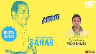 Zindagi Ek Safar Hai Suhana - Rafi Sahab ( HQ Quality