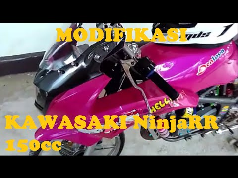 Video Review Kawasaki NinjaRR 150cc MODIFIKASI YM#2