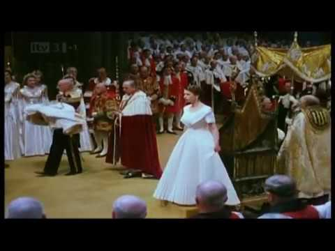 1953. The Coronation of Queen Elizabeth II : 'The Holy Anointing'