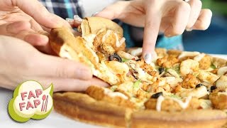 The Weirdest Korean Pizzas