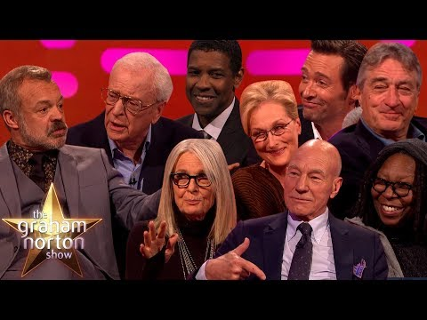 THE GREATEST ACTORS OF ALL TIME on The Graham Norton Show