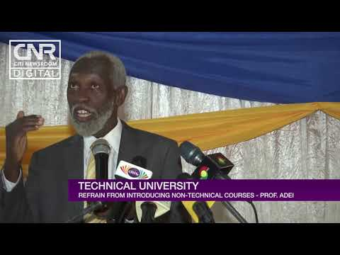 Prof Addai technical universities to focus on technical courses