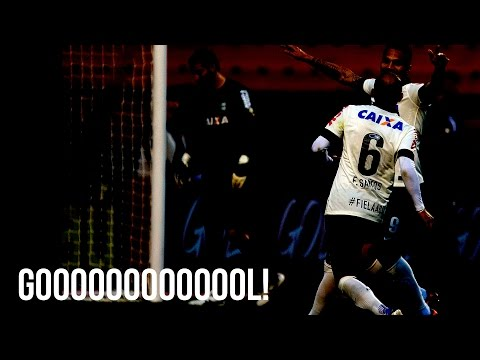 Corinthians x São Paulo - Fábio Santos marca pro Corinthians