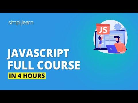JavaScript Full Course | JavaScript Tutorial For Beginners|Simplilearn