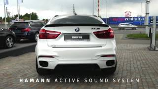 BMW X6 M50d F16 with HAMANN Active Sound Exhaust System