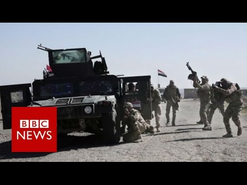 Mosul offensive now focused on city's airport - BBC News