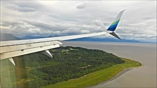 Alaska Airlines Boeing 737-990 - Seattle to Anchorage *Full Flight*