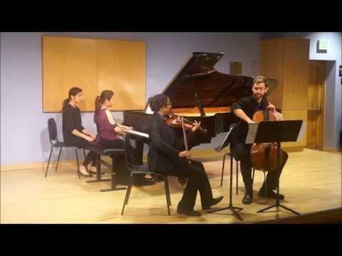 """Beethoven Piano Trio no.5 in D major, Op.70 """"Ghost"""" 1st mvt-Allegro vivace e con brio..."""