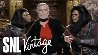 Monologue: Charlton Heston is Captured by Apes - SNL