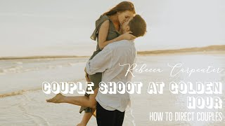 How To Direct Your Couples On Engagement Shoots | Rebecca Carpenter Photography