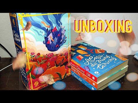 Unboxing | Trilogia Castelo Animado