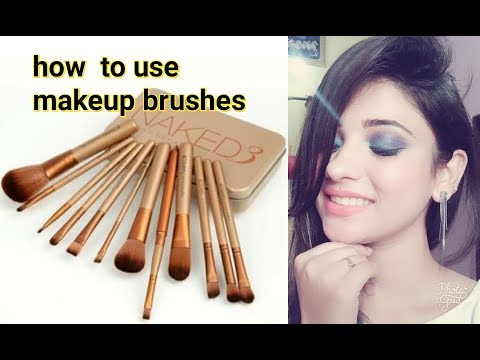 how to use makeup brushes in hindi    beginners special    shy styles