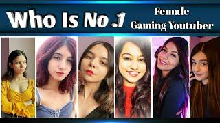 Top 10 Female Gaming Youtubers in India 🇮🇳 | Payal gaming , blackpink gaming ,Pooja - 10