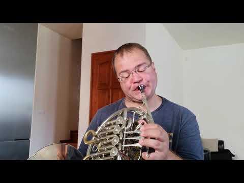 Jurassic park Horn solo :) (Paxman 83L)
