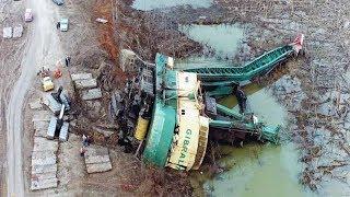 TOP IDIOTS Crazy Operator Heavy Equipment Skills - Bulldozer, Excavator Fail Win Compilation