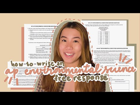 how to write an ap environmental science frq for 2021