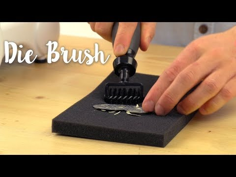 How to Use the Die Brush - Sizzix