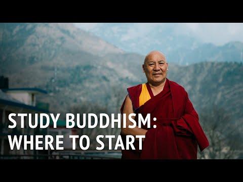 Studying Buddhism: Where to Start | Geshe Lhakdor