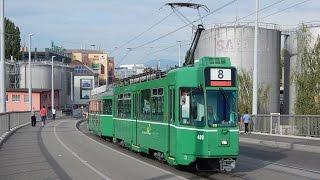 preview picture of video 'Probe und Fahrschulfahrten Tram 8 Weil am Rhein [HD+]'