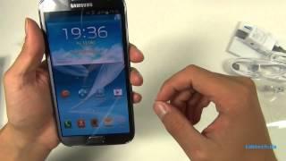 Samsung Galaxy Note 2 Unboxing und Kurztest - Deutsch