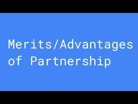 Advantages of Partnership Firm