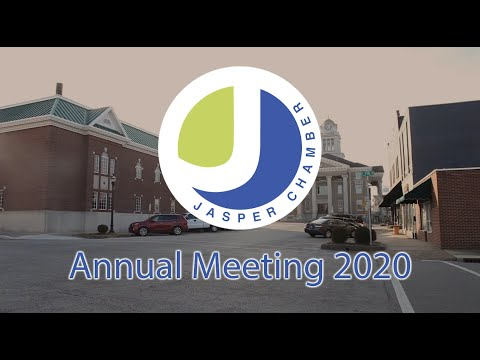 Jasper Chamber Virtual Annual Meeting YouTube thumbnail image