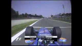 F1 Monza 2004 Q1 - Giancarlo Fisichella Lap