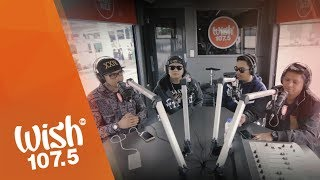 "Smugglaz, Curse One, Dello and Flict-G perform ""Nakakamiss"" LIVE on Wish 107.5 Bus"