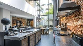 Interior Design ▸ Industrial Loft In Amsterdam