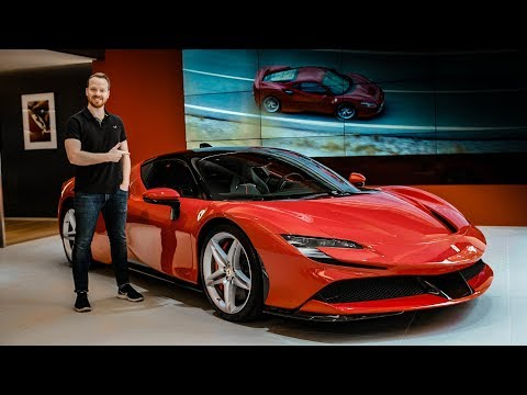 FIRST LOOK: Ferrari SF90 Stradale | Top Gear