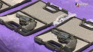 Lucian Bode: Captură record - 2.850 de pistoale cu glonţ, găsite într-un camion la PTF Isaccea