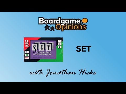 Boardgame Opinions: SET