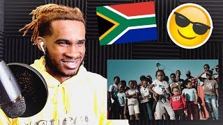 NASTY C   STRINGS AND BLING (OFFICIAL MUSIC VIDEO) | REACTION VIDEO