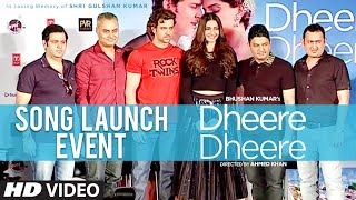 Dheere Dheere Song Launch Event  Hrithik Roshan