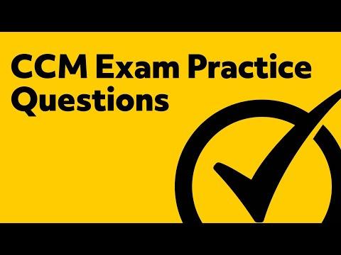 Free CCM Practice Test - YouTube