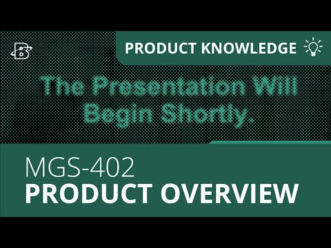 MGS-402 | Product Overview