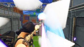 THANOS DESTROYED ME! (1v1) - Fortnite: Battle Royale!  (Infinity Gauntlet)