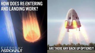 How do you get back to Earth from Orbit? How to survive re-entry and landing!