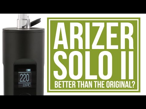 Arizer Solo 2 Portable Vaporizer Review | Better than the best?