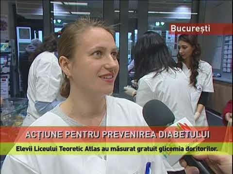 Arc albastru cu diabet zaharat de zahăr