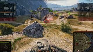 Слаааабый бой на слаааабом Т-34-85М. Не имба.
