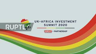 REFEED: UK Africa Investment Summit Takes Place In London