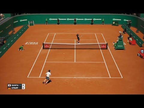 Yuichi Sugita vs Jan-Lennard Struff - AO Tennis PS4 Gameplay