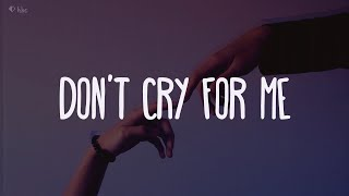 Alok, Jason Derulo & Martin Jensen - Don't Cry For Me (Lyrics)