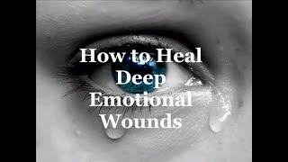 How To Heal Emotional Pain: Why You Must Feel to Heal