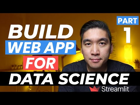 How to Build Your First Data Science Web App in Python - Streamlit Tutorial #1