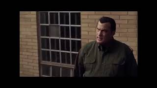 Steven Seagal fight's in jail - Maximum Conviction 2012