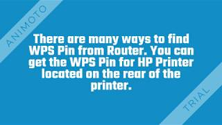 What are the steps to find WPS Pin on the HP printer