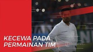 Penyerang Persela, Alex Dos Santos Menangis Seusai Gagal Jebol Gawang Badak lampung FC Lewat Penalti