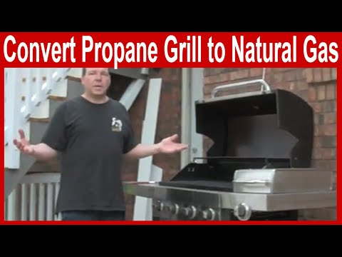 How to Convert a Propane Grill to Natural Gas